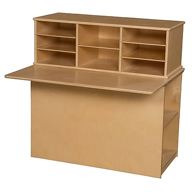 Wood Designs Single Sided 36.19'' Read & Writing Station, Small (WD31110)