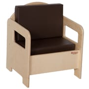 "Wood Designs™ 20""(H) Plywood Padded Chairs"