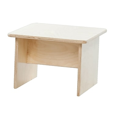 Wood Designs™ Children's Furniture End Table, Natural