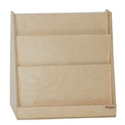 """Tot Furniture™ 24""""(H) Fully Assembled Plywood Tot-Size Single-Sided Book Display"""