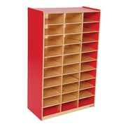 Wood Designs™ Mailbox Center, Strawberry Red