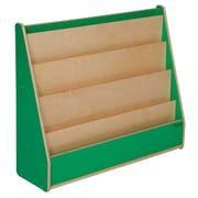 "Wood Designs™ Literacy 29""(H) Plywood Book Display Stand, Green Apple"