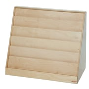 "Wood Designs™ Literacy 29 1/2""(H) Fully Assembled Plywood Book Storage and Display"
