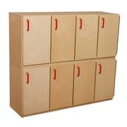 """Wood Designs™ Stacking Locker, 20""""H, Wood (WD46300)"""