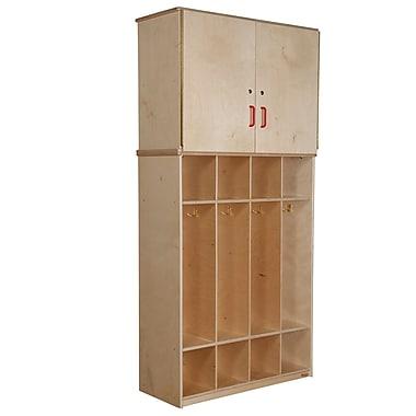 Wood Designs™ Coat Locker Vertical Storage Cabinet, Birch