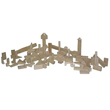 Wood Designs™ Hardwood Nursery Block Set, 93 Pieces