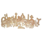 Wood Designs™ Hardwood Kindergarten Block Set, 183 Pieces