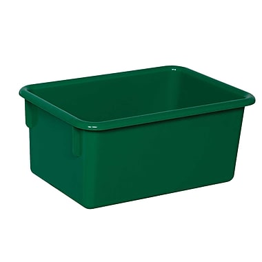 Wood Designs™ Plastic Cubby Tray, Green