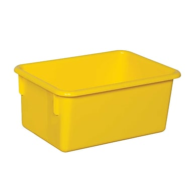 Wood Designs™ Plastic Cubby Tray, Yellow