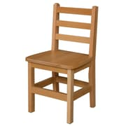 "Wood Designs 14""(H) Hardwood Chair, 2/Pack"