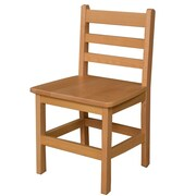 "Wood Designs 15""(H) Hardwood Chair, 2/Pack"
