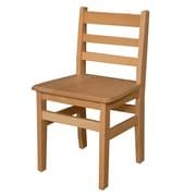 "Wood Designs 16""(H) Hardwood Chair, 2/Pack"