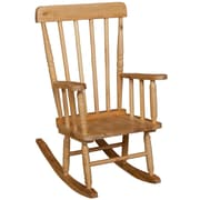 "Wood Designs 10""(H) Hardwood Child's Rugged Rocker"