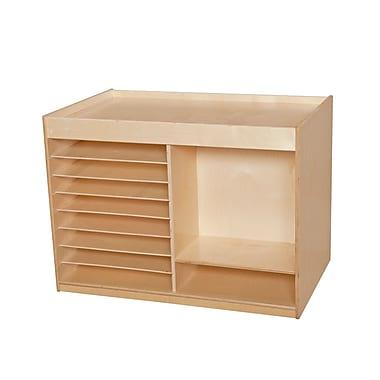 Wood Designs™ Mobile Art Center, Birch