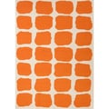 Jaipur Rugs Maroc Red/Orange Abstract Rug; 5' x 8'