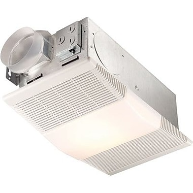 Broan Nutone 70 CFM Energy Star Bathroom Fan with Heater and Light