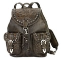 American West Hand Tooled Backpack
