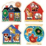 Melissa & Doug® Puzzle Set, Jumbo Knob