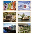 Melissa & Doug® 11in. x 8 1/2in. Puzzle Set, Houses Around the Globe