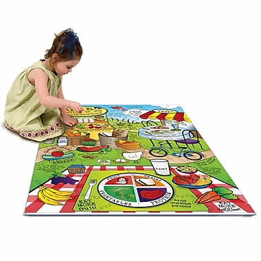 Chenille Kraft® Wonder Foam Giant Land of Nutrition Activity Puzzle