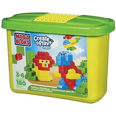Mega Brand® Create 'n Play Junior Building Blocks, 180/Set