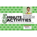S&S® Five Minute Nutritional Activities for Preschool Book
