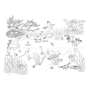 "Pacon® 48"" x 72"" Pond Life Learning Walls®"