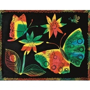 "Melissa & Doug® 8 1/2"" x 11"" Multicolor Scratch-Art® Board, 30/Pack"