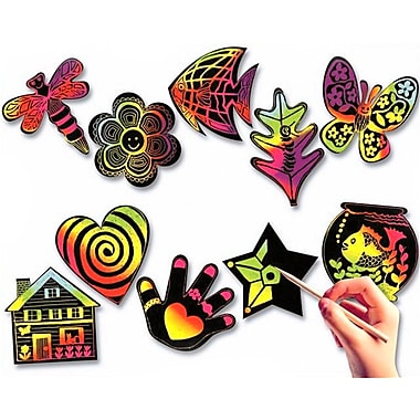 Melissa & Doug® Scratch-Art® Creative Shapes, 50/Pack