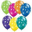 Pioneer® Balloon 11in. Shooting Stars Balloon, Assorted, 100/Pack
