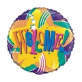 S&S® 18in. 'Welcome' Foil Balloon, 10/Pack