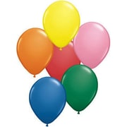 "Qualatex® 9"" Balloon, Assorted, 100/Pack"