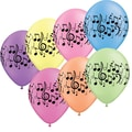 S&S® Music Note Balloon, Neon, 100/Pack