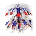 S&S® 18in. x 10in. Patriotic Cascade Centerpiece, 6/Pack