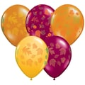 Pioneer® Balloon 11in. Autumn Leaves Latex Balloon, 50/Pack
