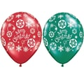 Pioneer® Balloon Merry Christmas Latex Balloon, 50/Pack
