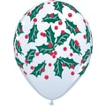 Pioneer® Balloon Holly Berry Latex Balloon, 50/Pack