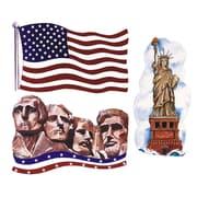 "S&S® 27"" Patriotic Cutouts, 24/Pack"