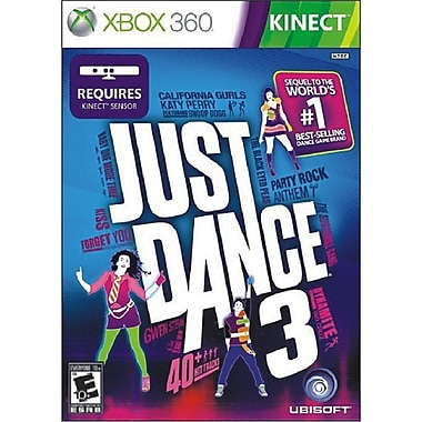 Xbox 360 52677 Kinect Just Dance 3 Game, Xbox 360