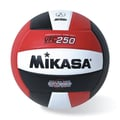 Mikasa® Championship Series Official Game Volleyball, Size 5, Red/Black/White