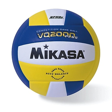 Mikasa® Premier Series Indoor Competition Volleyball, Royal/Gold