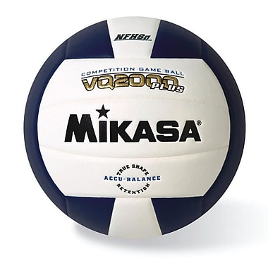 Mikasa® Premier Series Indoor Competition Volleyball, Navy/White