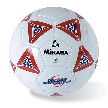 Mikasa® Varsity Series Soft Soccer Ball, Size 5, Red/Blue/White