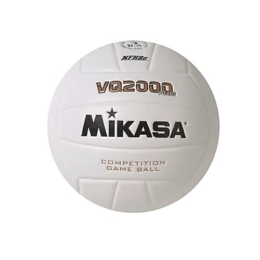 Mikasa® Indoor Composite Volleyball, Official Size, White
