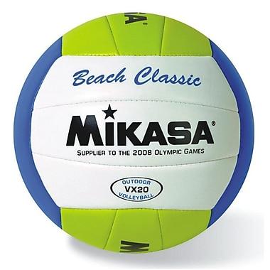 Mikasa® Beach Classic Volleyball, Yellow/White/Blue