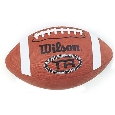 Wilson® TR Waterproof Practice Youth Football, Official
