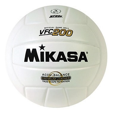 Mikasa® Championship Series Indoor Volleyball, Size 5, White