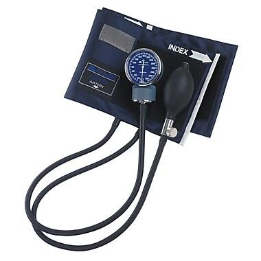 Briggs Healthcare Series Aneroid Sphygmomanometer, Large Adult Blue