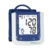 Briggs Healthcare Automatic Arm Digital Blood Pressure Monitor White / Dark Blue