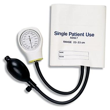 Briggs Healthcare Single-Patient Use Sphygmomanometer, Adult White